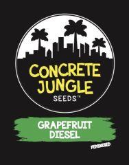 Concrete Jungle Seeds - Grapefruit Diesel (Fem)