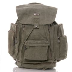 The Multi Pocket Hemp KnapSack