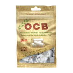 OCB Unbleached Slim Filter Tips