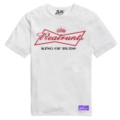 King Of Buds T-Shirt By Runtz - White