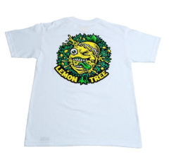 The Lemon Tree Dripping Tree T-Shirt - White by Lemon Life SC