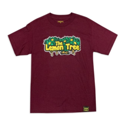 "The Lemon Tree ""Original T-Shirt"" in Maroon by Lemon Life SC"