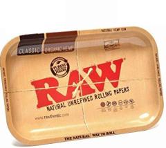 Small Raw Metal Tray
