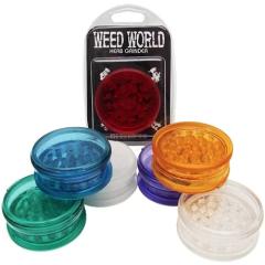Weed World Herb Grinder - Plastic