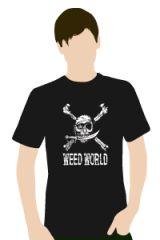 Weed World Hemp T Shirt